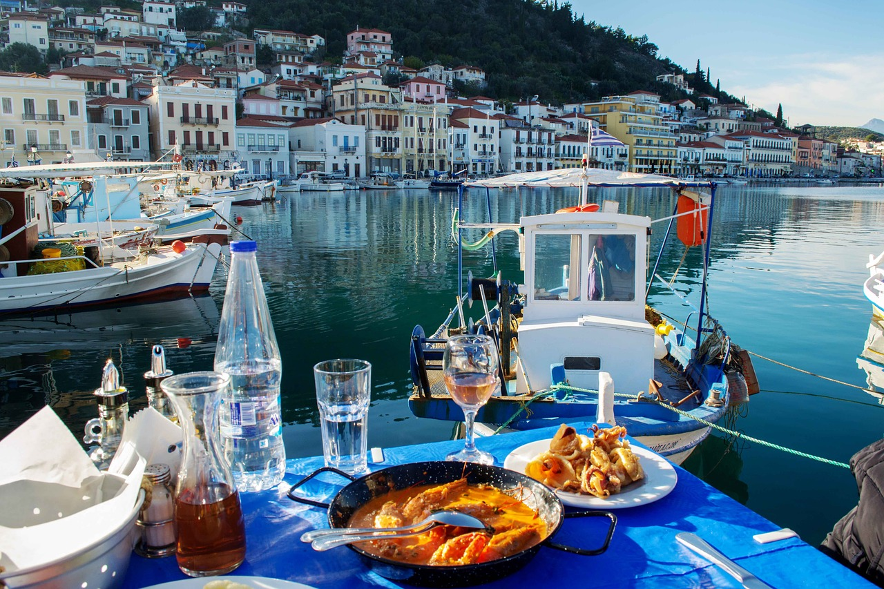Acropolis Cuisine-image of Greece-restaurant on water-About-Us